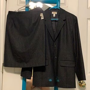 Talbot's suit jacket with skirt